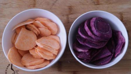 自制双色小饼干颜色好看味道更是一级棒, 赶快给您家小孩做的试试
