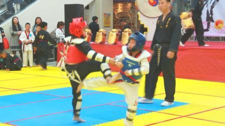 百屹国际跆拳道教育连锁集团晋级演武大会(吉林省梅河口地区)