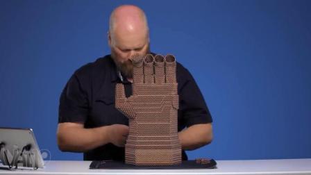 帅爆了! 用25000个磁球制作《复仇者联盟3》无限手套