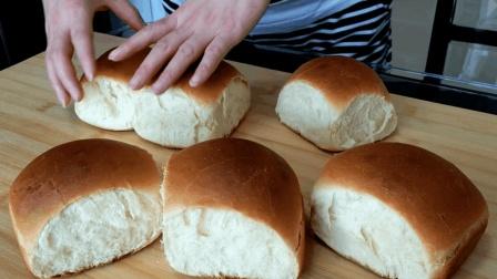在家就能做老式面包, 这2步做对了, 花钱也不好买这个味道