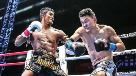 泰拳王铁腿上头重拳猛击太阳穴, 中国名将硬怼播求惨遭KO