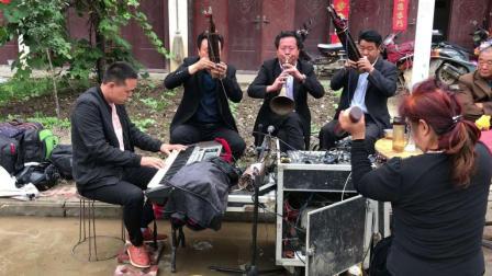 河南省邓州市农村白事, 老师的唢呐吹的太好听了, 听醉了