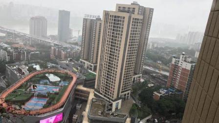 雨中打探西南首个天际运动场: 新晋网红打卡地