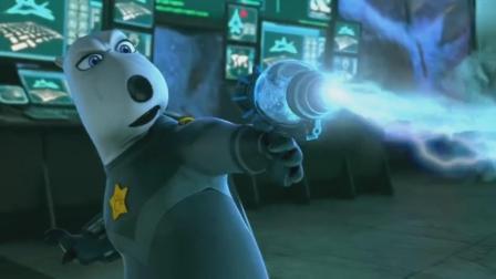 倒霉熊变身特工熊大展身手,没想到却帅不过几秒,又变成倒霉熊了
