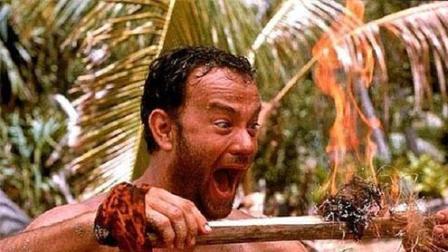 《荒岛余生》汤姆汉克斯上演真人版绝地求生