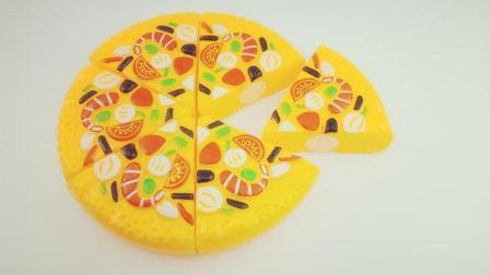 儿童认识食物的益智玩具 认识美食披萨