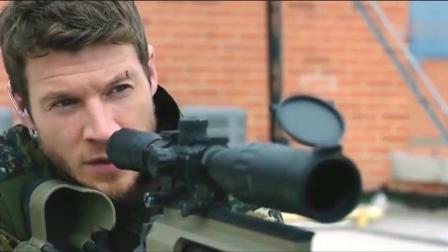 动作大片《狙击精英: 巅峰对决》, 狙击高手对决, 一枪打爆一辆车