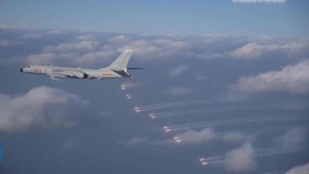 轰-6k实弹训练, 首次南海岛礁机场起降