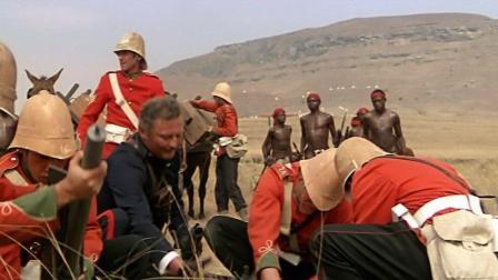 非洲原始部落大战英军入侵, 结果被侵略者打的丢盔弃甲, 死伤惨重