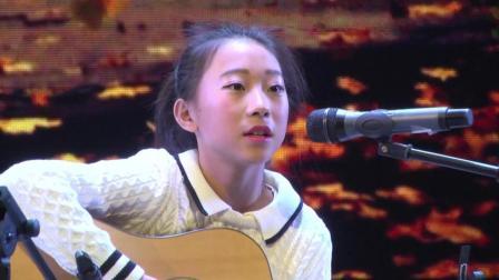 小姑娘吉他弹唱经典歌曲《big big world》