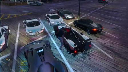 GTA5: 测试超级跑车MOD, 各种名车, 霸气侧漏