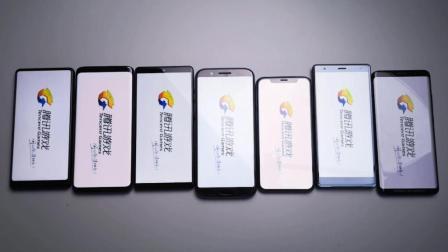 7台旗舰手机速度对比, 同样的应用, 谁的启动更胜一筹?
