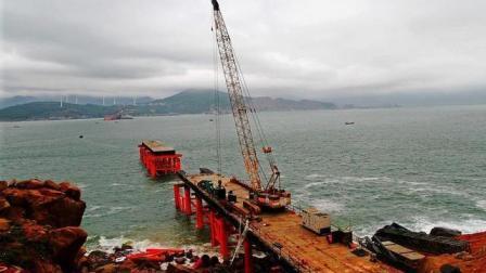 我国耗资257亿为一个岛修铁路桥, 得知其作用, 国人兴奋不已!