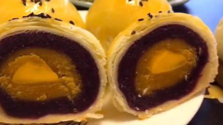 紫薯蛋黄酥, 带你体验真正的美味