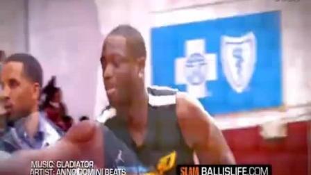 谁有最好的风车扣篮 篮球运球技巧视频