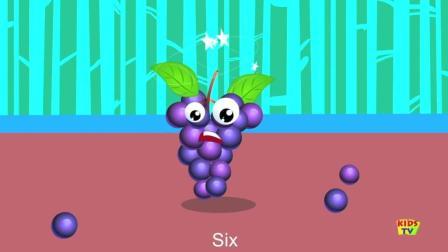 Ten In The Bed  Fruits英文儿歌带字幕