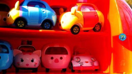面包车装满小汽车, 儿童汽车玩具, 悠悠玩具城