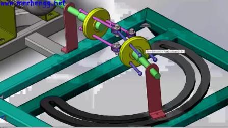 一看就懂的无齿轮转动机械, 视频也许会给大家带来一些启发