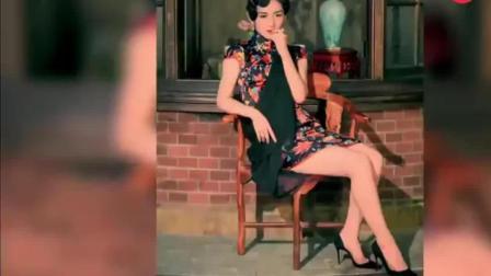 赵丽颖穿旗袍演上海女人太美了, 脚上大黑长皮靴是什么鬼