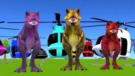 动物总动员: 恐龙与直升机, 狮子与游艇