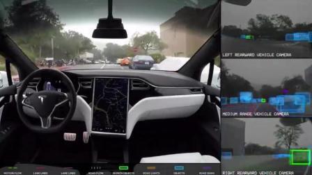 详细展示, 特斯拉汽车的自动驾驶系统