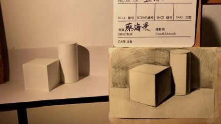 【蔡海晨素描工作室】石膏体教程简介