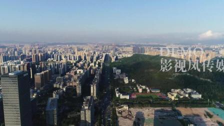 深圳龙岗中心城 大运新城 天安数码城 航拍视频素材 4K