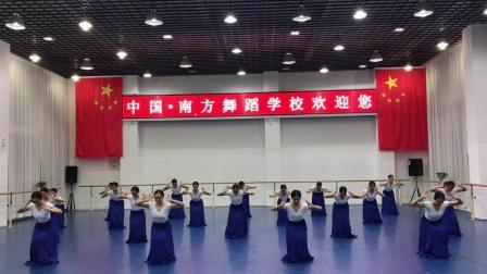 第一次接触朝鲜族舞蹈
