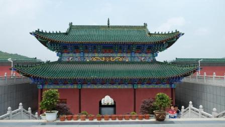 环中国之旅   多彩贵州行, 中国最大建筑面积的贵州省福泉市太极宫。