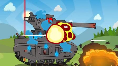 坦克世界搞笑动漫之利维坦终篇: 这是不是也算三英战吕布啊?