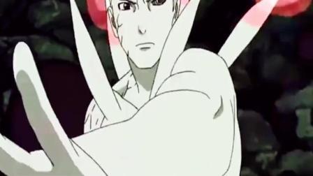 火影忍者: 鸣人仙人化九尾模式, 得到二代认同, 佐助看到又惊讶了