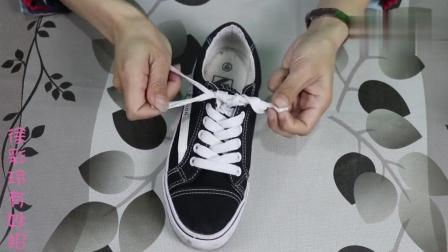 交叉系鞋带容易开教你一招最新的系鞋带方法, 简单易学不会开