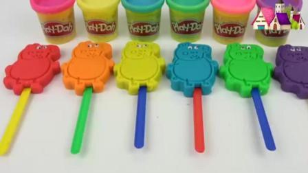 儿童培乐多彩泥 今天要用培乐多做彩虹佩奇小猪 培乐多教学视频