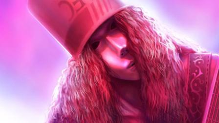 【尘时光影像】KFC桶哥Buckethead 最牛B的吉他高清现场