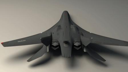 中国又一轰炸机浮出水面, 采用翼身融合体设计, 美日担心的来了