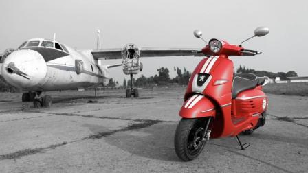 熊猫车评: 体验法国复古浪漫踏板-标致姜戈150ABS版