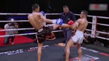 泰拳擂台上的十大KO!