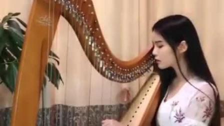 竖琴版《青花瓷》 分分钟要被美哭了!