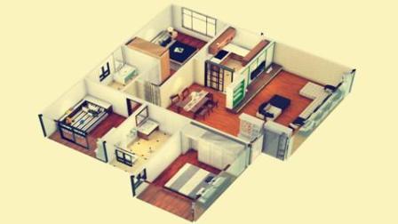 室内设计方案教程: 看12年设计师如何把奇葩户型优化出别墅的感觉!