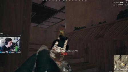 狙击手麦克: 麦克最惨吃鸡视频, 被5个人平底锅