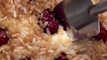 健康有营养的红枣糯米饭, 软糯香甜, 美味好吃!