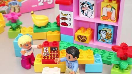 乐高玩具拼装玩具大乐透 大颗粒积木拼装儿童玩具介绍