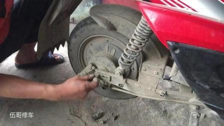 电动车刹车不好一定要及时更换, 老师傅教你如何快速换刹车