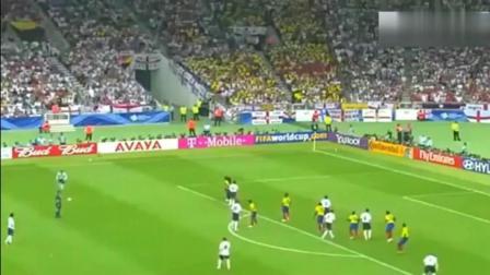 贝克汉姆世界杯上最后一球, 这一脚踢出几个亿, 贝嫂激动的跳起来