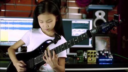 新生代世界顶尖电音女吉他手, 中国只有一小女孩上榜