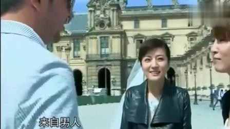 谢楠向外国人索吻? 接下来的举动惊人, 网友: 楠姐吴京会打你的!