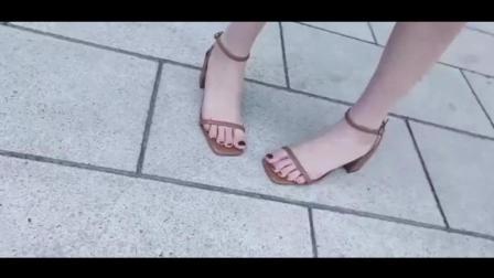 高跟凉鞋有美过一字带的吗?