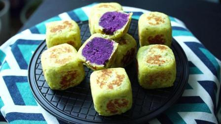地瓜和紫薯新吃法, 不加面粉、不加糖、做法简单, 营养美味又健康