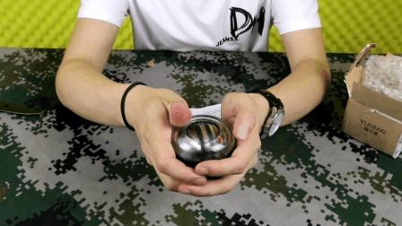 """拆箱试玩69元一个的""""腕力球"""", 这还是能很好的锻炼手腕力量"""