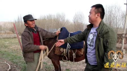 新疆胖纸哥挑战骑马, 第一次就骑这么好, 牧民担心呐